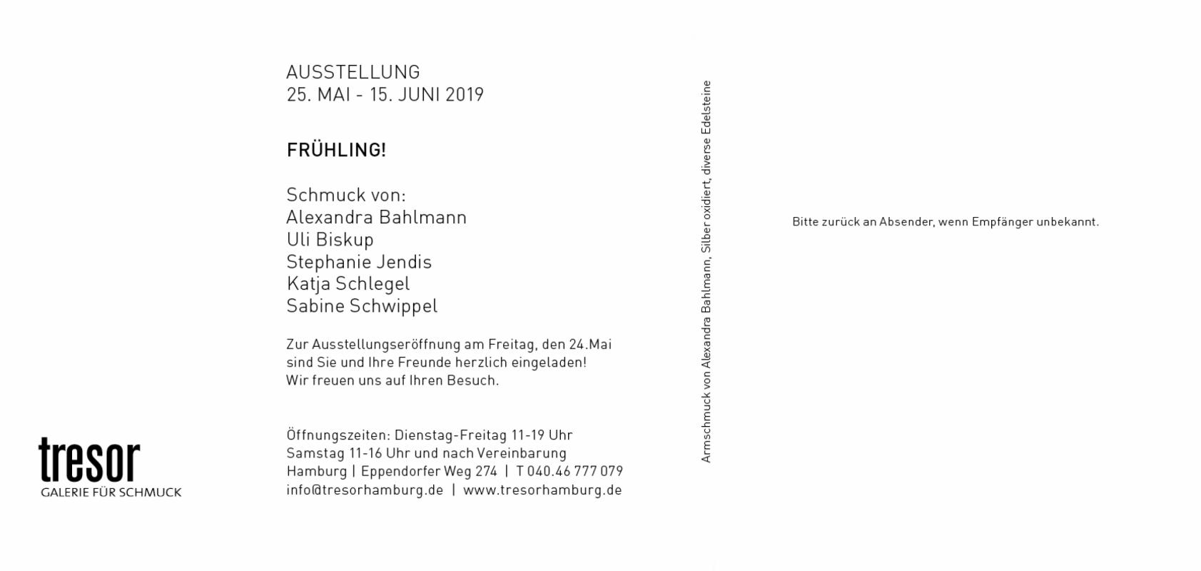 tresor Einladung Mai 2019
